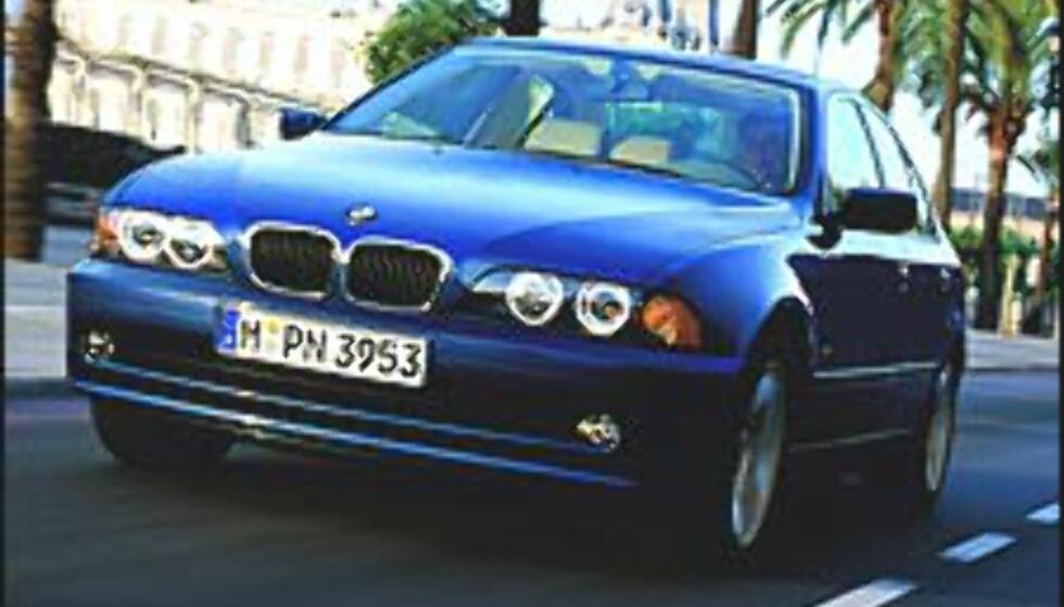 Også BMW med lang utstyrsliste