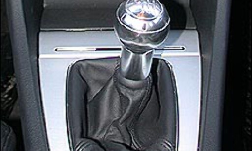 MANUELL: De fleste manuelle girkasser har fem trinn. Men enkelte biler leveres med 6-trinns girkasse, deriblant Audi A4.