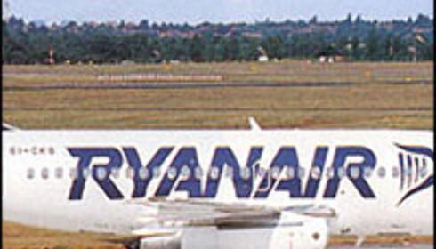 Forbrukerombudet med pepper til Ryanair. Foto: Ryanair