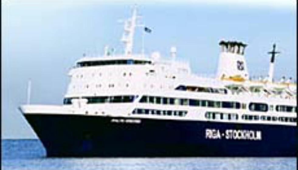 Riga Sea Line seiler mellom Stockholm og Riga. Foto: Riga Sea Line Foto: Riga Sea Line
