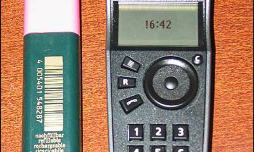 image: Store bilder av telefonen