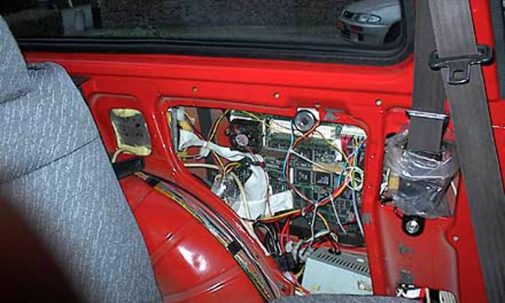 image: PC i bilen