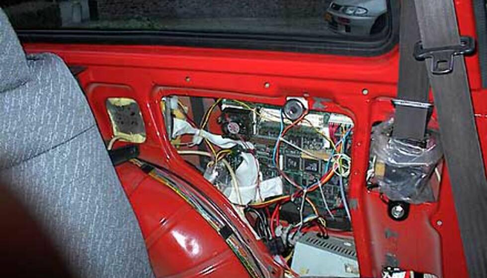 PC i bilen