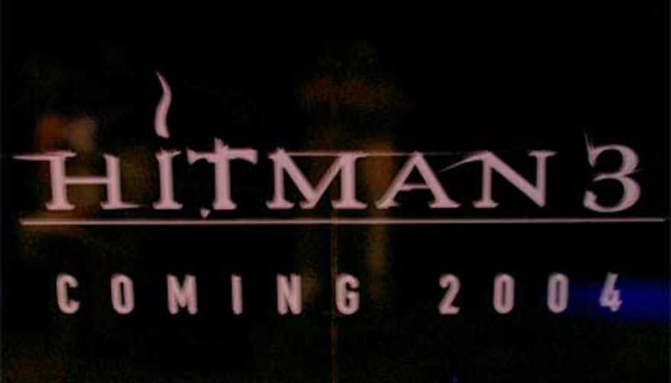 Hitman 3 kommer visst i 2004