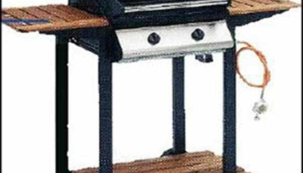 Landmann - 2.398.- hos Elkjøp  2 brennere og varmeindikator. Emaljert lokk med vindu. Grillrist, varmeindikator, flammebeskyttelse og stort lokk.