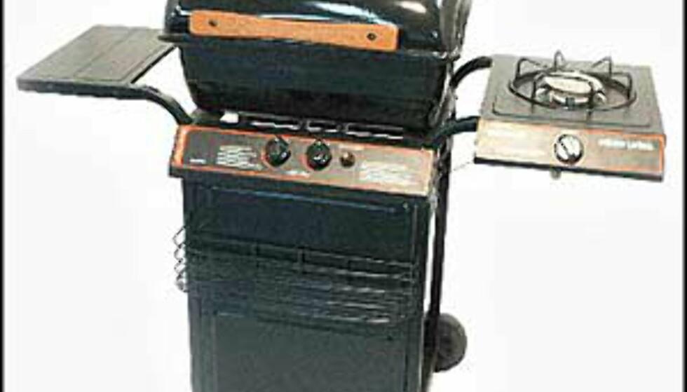 Spar penger på Primus Duo!  1.790.- hos Jernia, 1.299 hos Bestbuy.no, og 1.190 hos Maxbo.  Solid grill med to brennere i rustfritt stål og kokeapparat på siden. Porselensbelagt grillkasse, lokk og rist.Svingbar varmehylle.