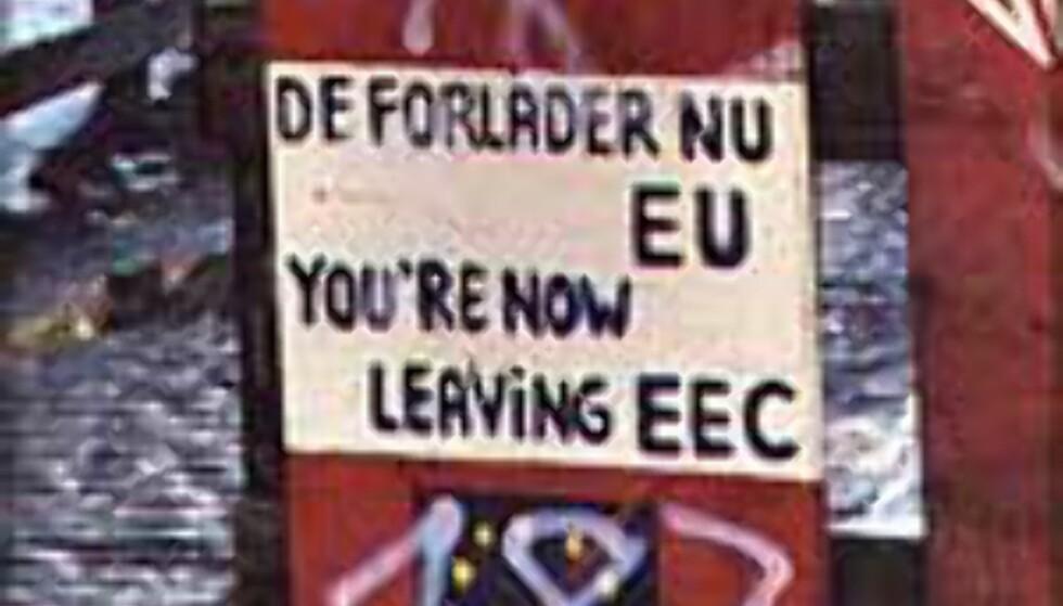 Christiania har egne lover og eget styre ...