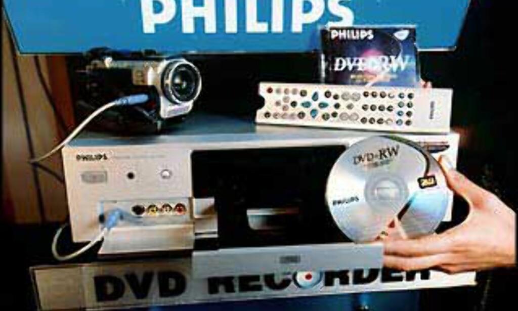 Philips DVDR 1000