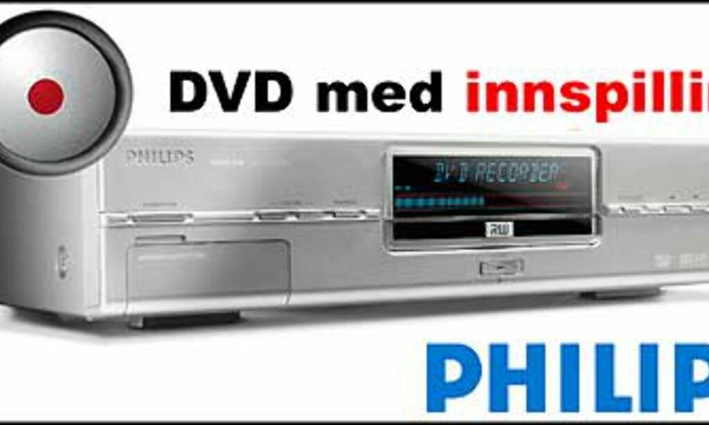 Philips DVDR 890