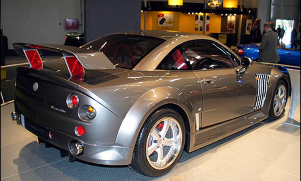 MG XPower SV.
