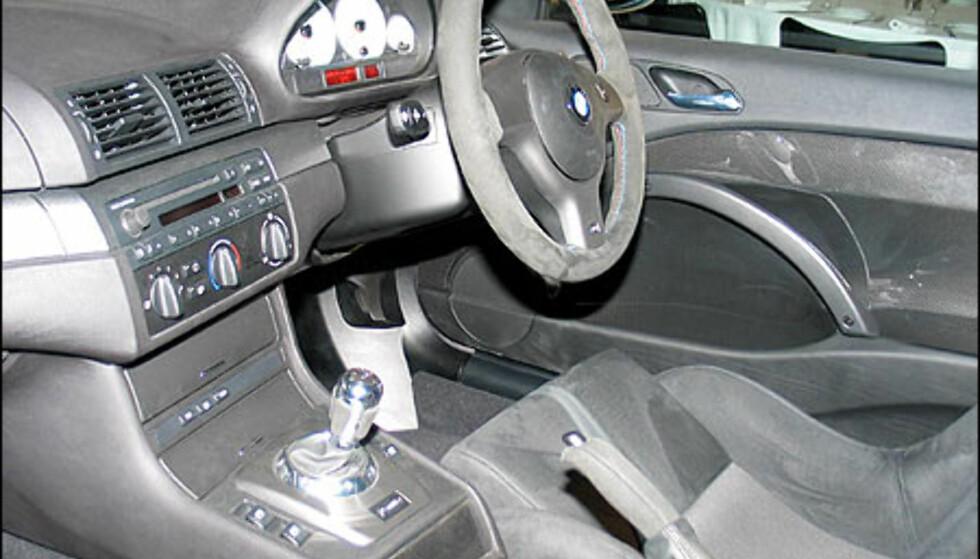 BMW M3 CSL.