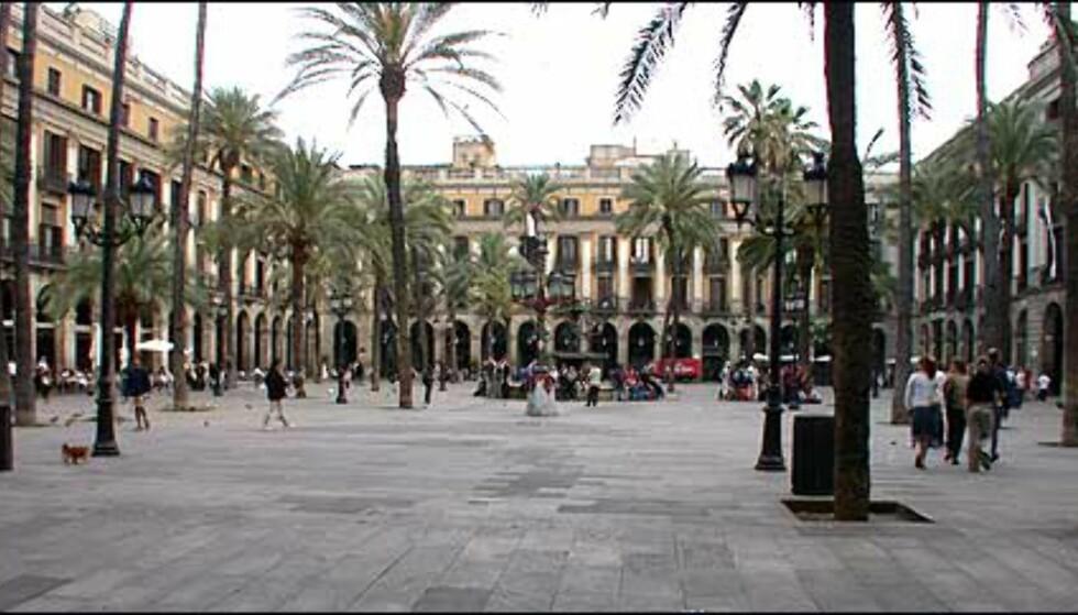 En av Barcelonas mest livlige torg er Placa Reial i gamlebyen, like inn for Ramblas. Lampene på plassen er designet av Gaudí, og den er kranset av restauranter med både inne- og uteservering.