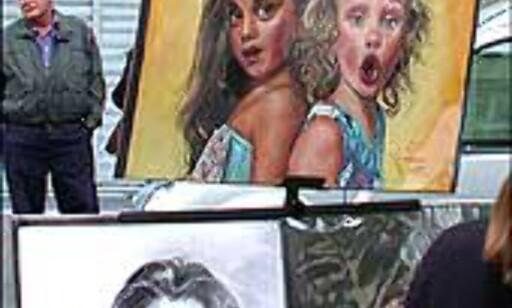 Ditt eget portrett? På Ramblas finner du tegnerne.