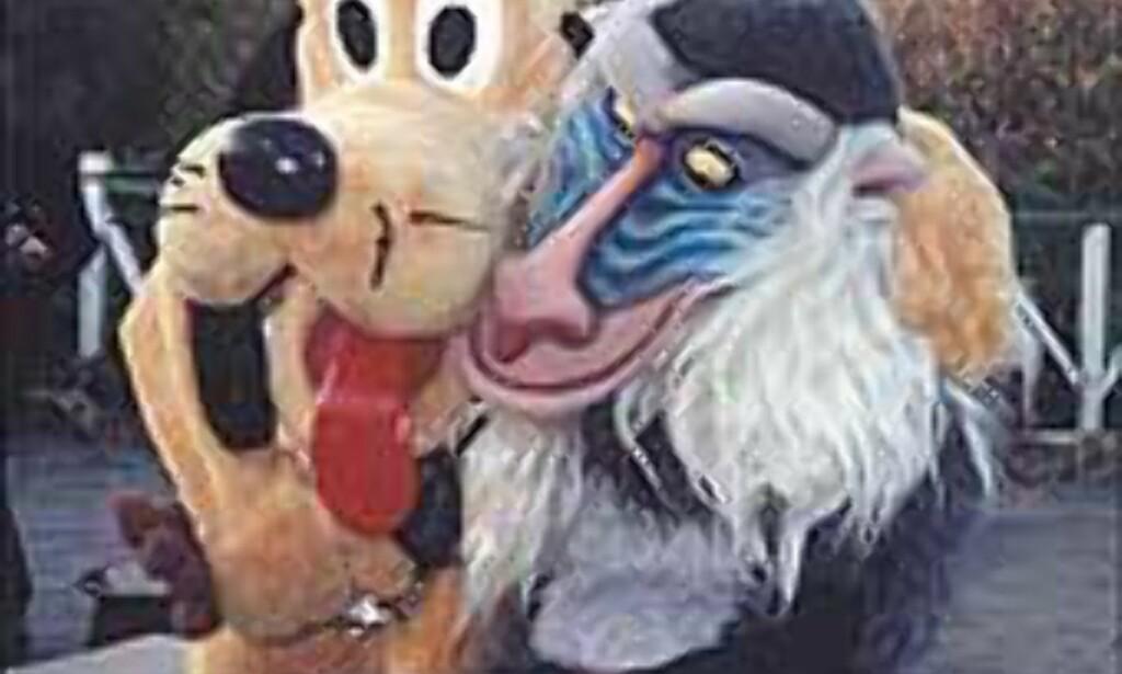 Barn vil gjerne møte disneyfigurene, og voksne tar gjerne bilder. <I>Foto: Stine Okkelmo</I> Foto: Stine Okkelmo