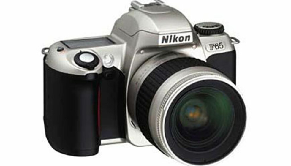 <center>Nikon F65.