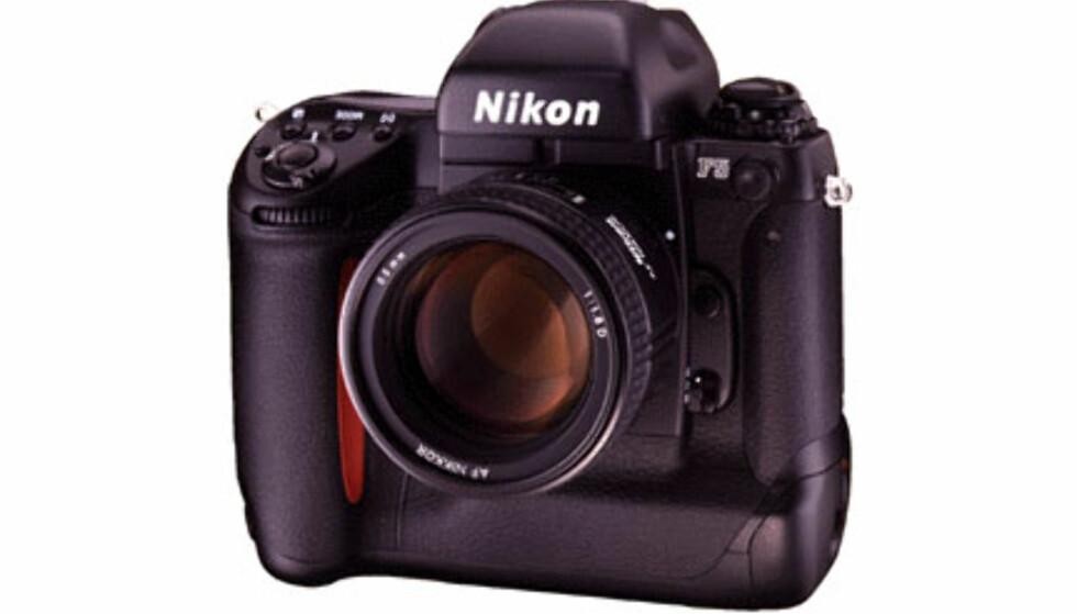 <center>Nikon F5.