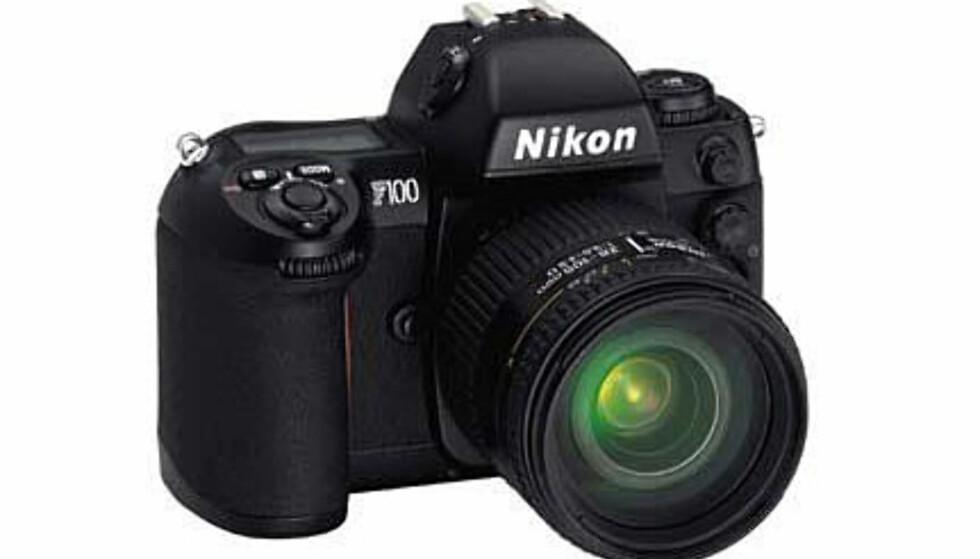 <center>Nikon F100.