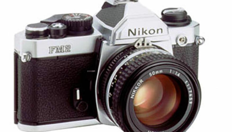 <center>Nikon FM2.