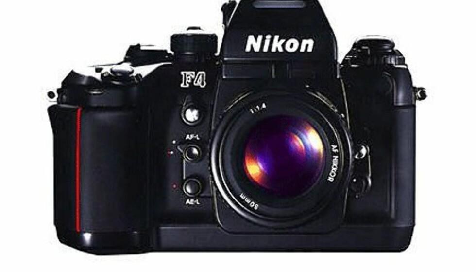<center>Nikon F4.