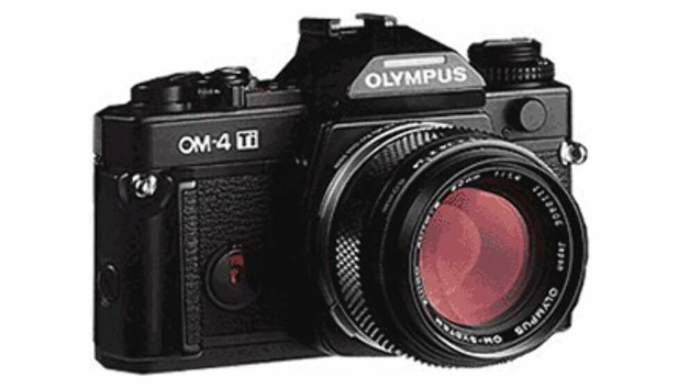 <center>Olympus OM4ti.