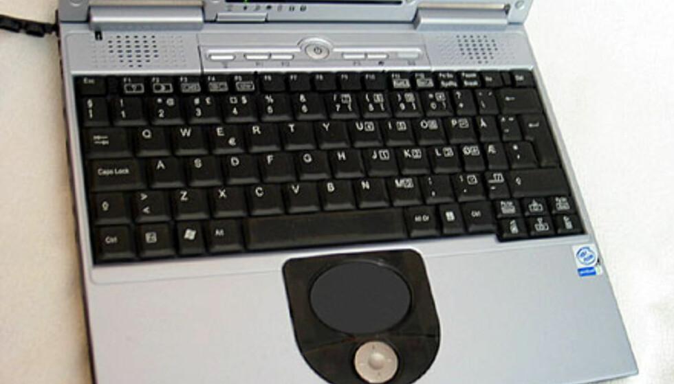 Tastaturet kunne knapt vært større. Legg merke til at ÆØÅ er mindre enn de andre bokstavtastene, det gjelder også samtlige andre spesialtaster. Smart!
