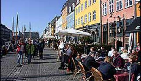 Nyhavn er en av holdeplassene, og også en av stoppene på sightseeingrutene.