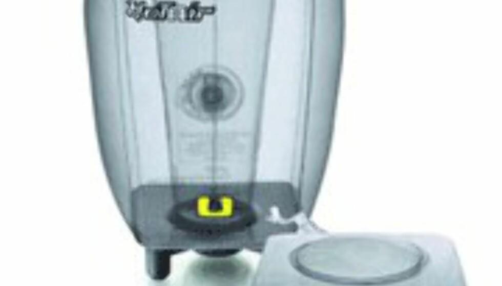 <center>Den oppblåsbare Ellula Hotair C2 i gjennomsiktig versjon.<br /> <br /> Ps: Ta med lappesaker og sykkelpumpe...