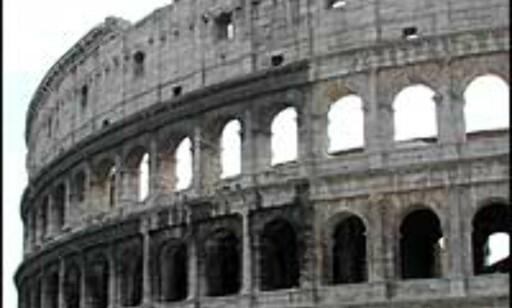 ROMA: Feiringen i Roma er storstilt. Her deltar også paven. Foto: Christian Steffensen
