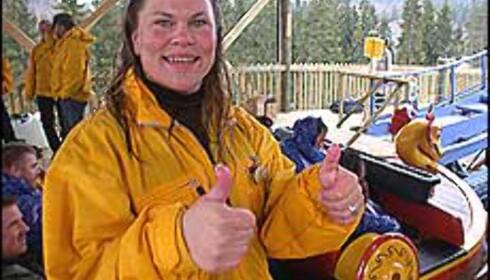Direktør Linda Bernander Silseth er selv berg- og dalbaneentusiast.