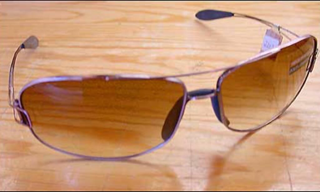 Rosa til gutta fra Dolce og Gabbana. Mange av årets briller har metallinnfatninger i matte valører som matcher glassfargen.  Butikk: Victoria Synssenter