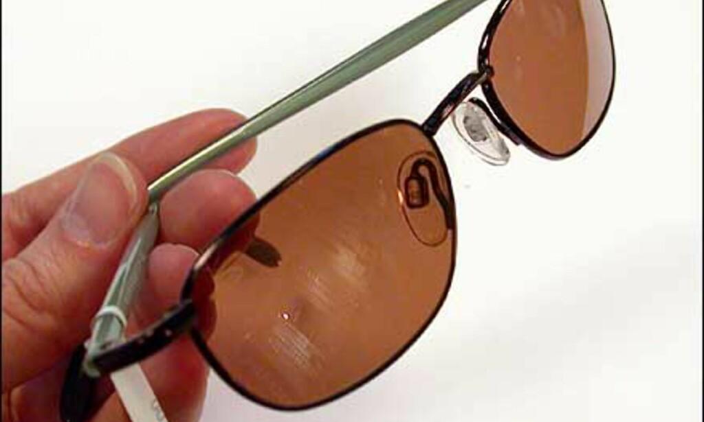 Kjørebriller fra Serengeti, et merke som har fokus på optikk og holder seg til konservativ design.  Butikk: Interoptik, Vika Torvet
