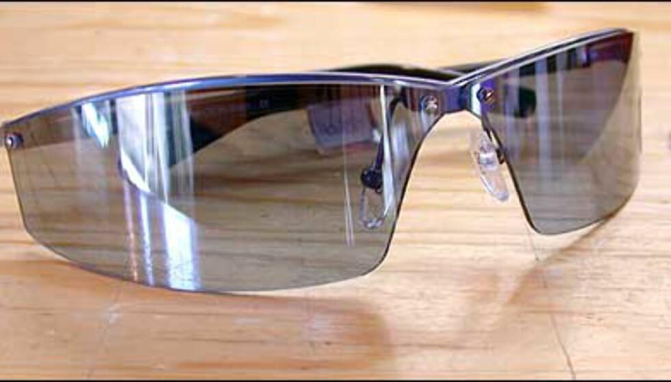 Sporty herrebrille fra Dolce og Gabbana med svak speilglasseffekt.  Butikk: Victoria Synssenter