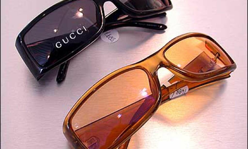 Mørk eller lys - Gucci gir deg flere varianter av samme brilledesign.  Butikk: Elton Optikk
