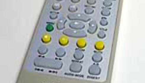 Håndholdt DVD-spiller med innebygd skjerm