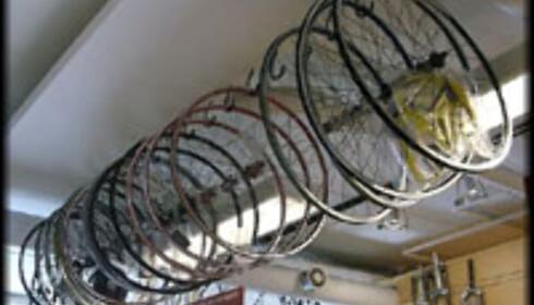 Sykkelens deler