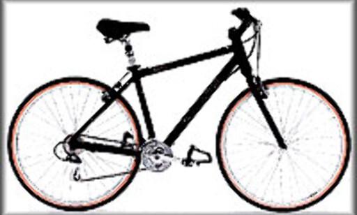 Hybridsykkelen.