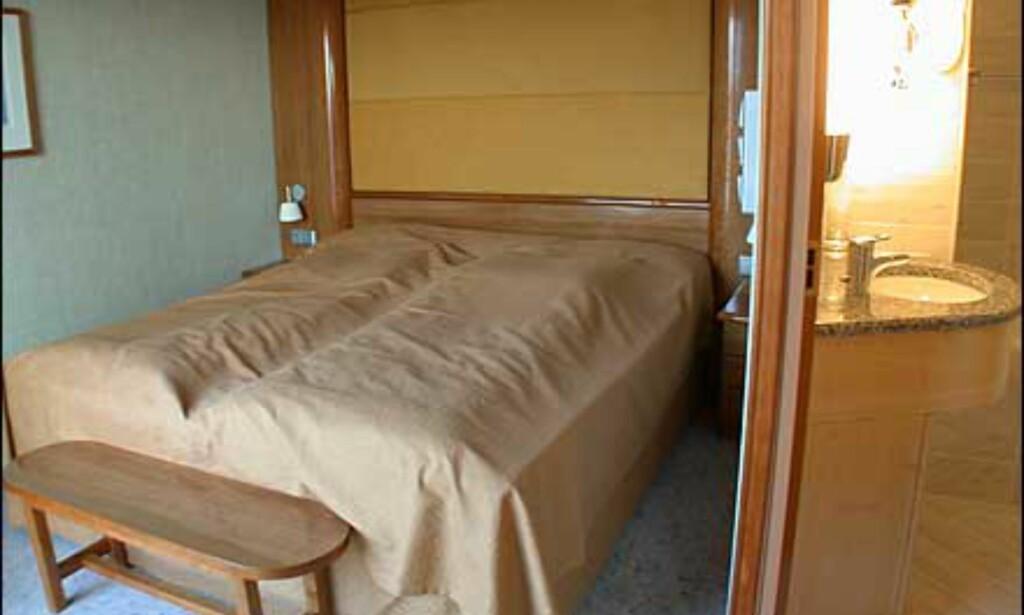 Soverom i skipets største suiter.