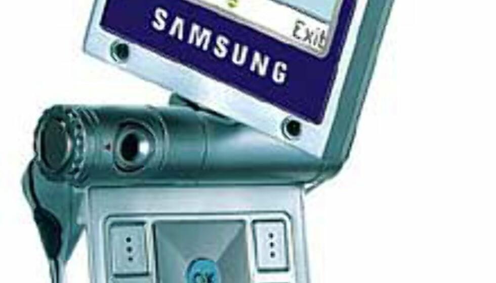 Samsung med dreibar mobil
