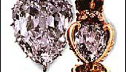 Verdens største slepne høykvalitetsdiamant - Cullinan 1.