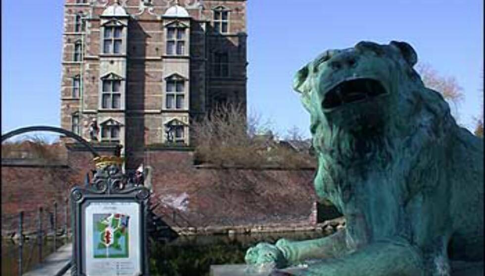 Rosenborg Slot fra utsiden.