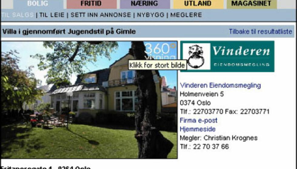 Mars: Dyrest bolig i Oslo