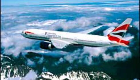 British Airways kutter. Foto: NewsCast/BA