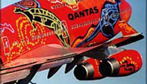 Australske Qantas kutter.