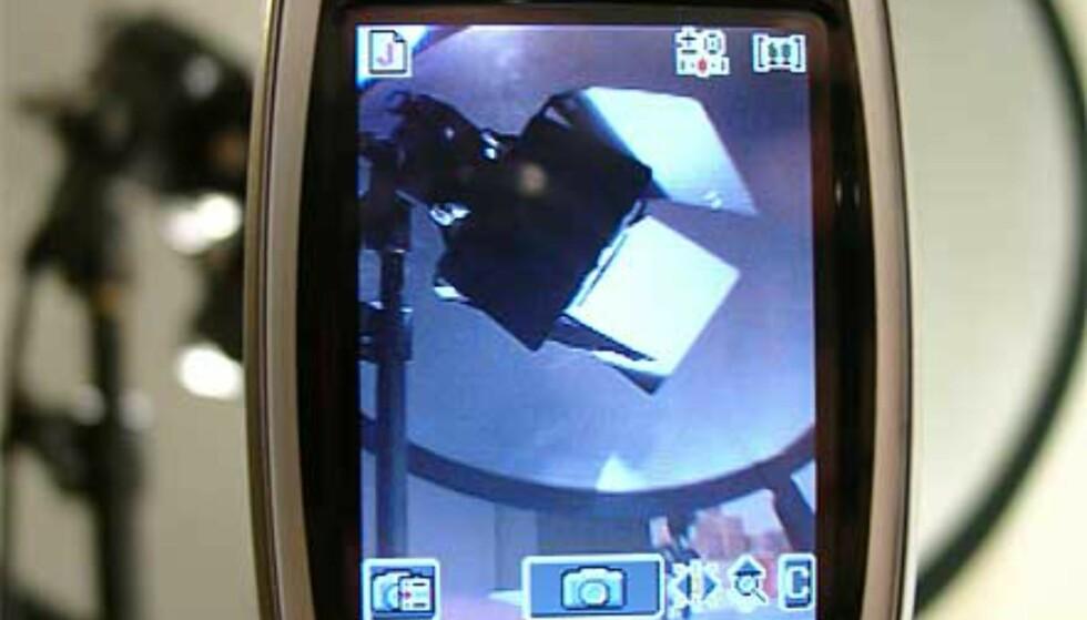 Kameraet i bruk
