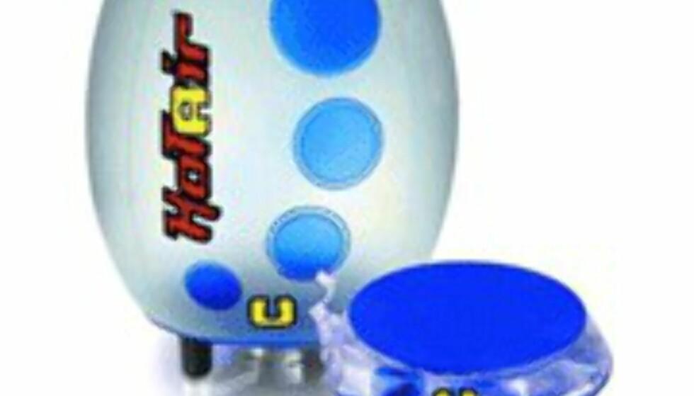 <center>Ellula Hotair Revo i blå versjon.