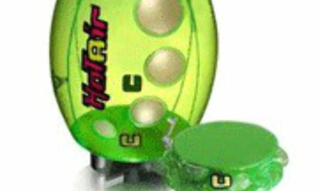 Ellula Hotair Revo i grønn versjon.