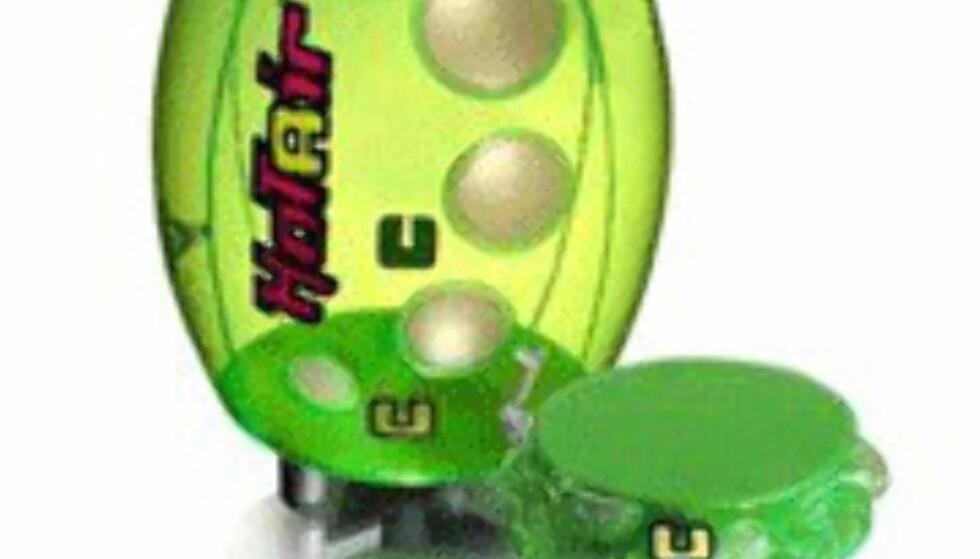 <center>Ellula Hotair Revo i grønn versjon.