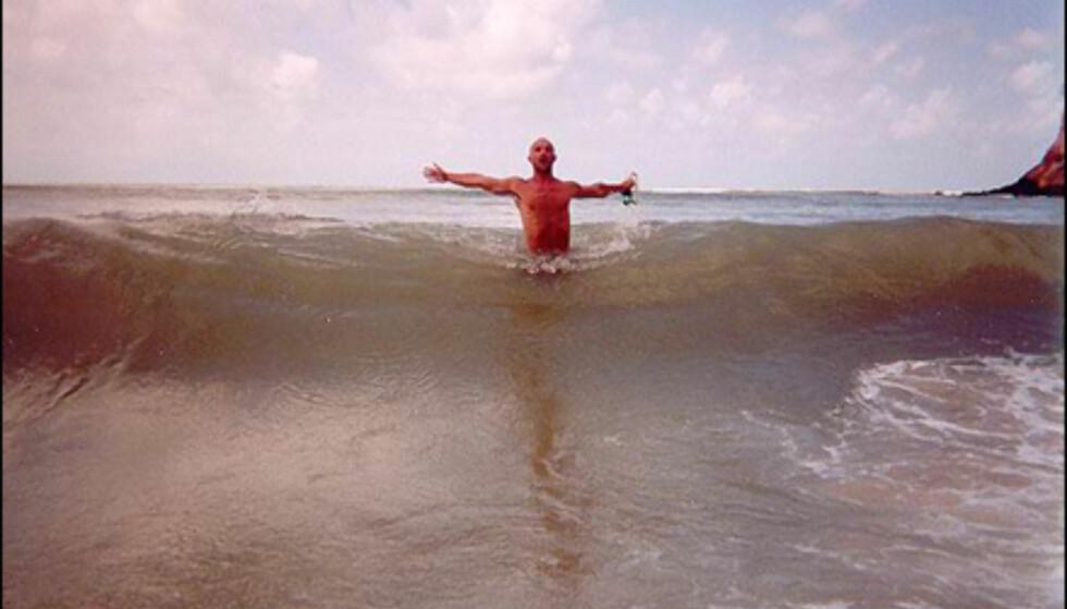 Ronny Sivertsen kom langt med sitt badeliv i Brasil. Foto: Ronny Sivertsen