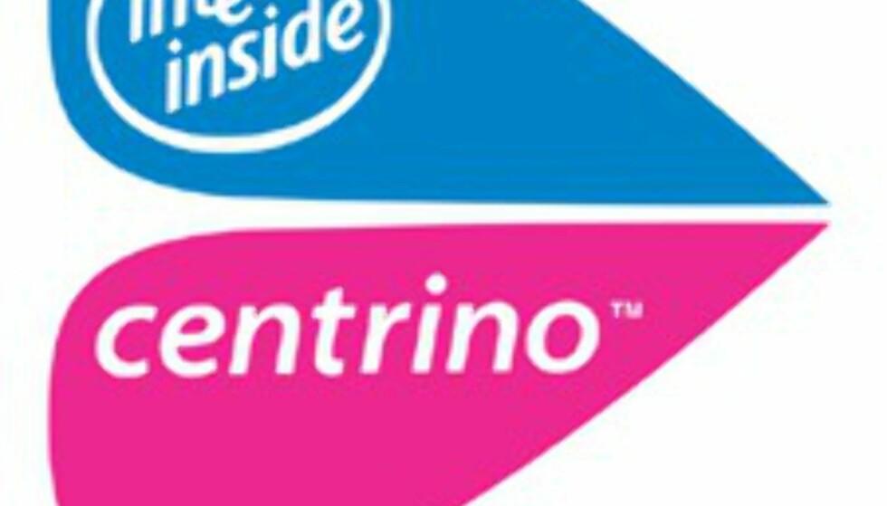 Dette er altså den offisielle Centrino-logoen.