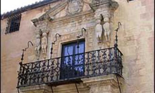 Spansk idyll i Ronda, en by inne i landet for Marbella. Foto: Karoline